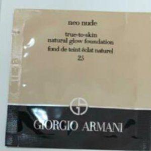 Giorgio Armani Neo Nude 2.5 Fair-Neutral 5X 0.03oz